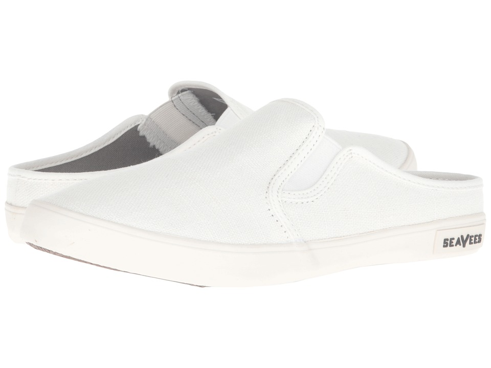 SeaVees - 02/64 Baja Slip-On Mule (White) Women's Shoes