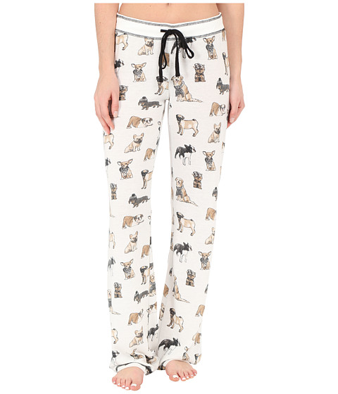P.J. Salvage - Cool Dogs Sleep Pants (Ivory) Women's Pajama