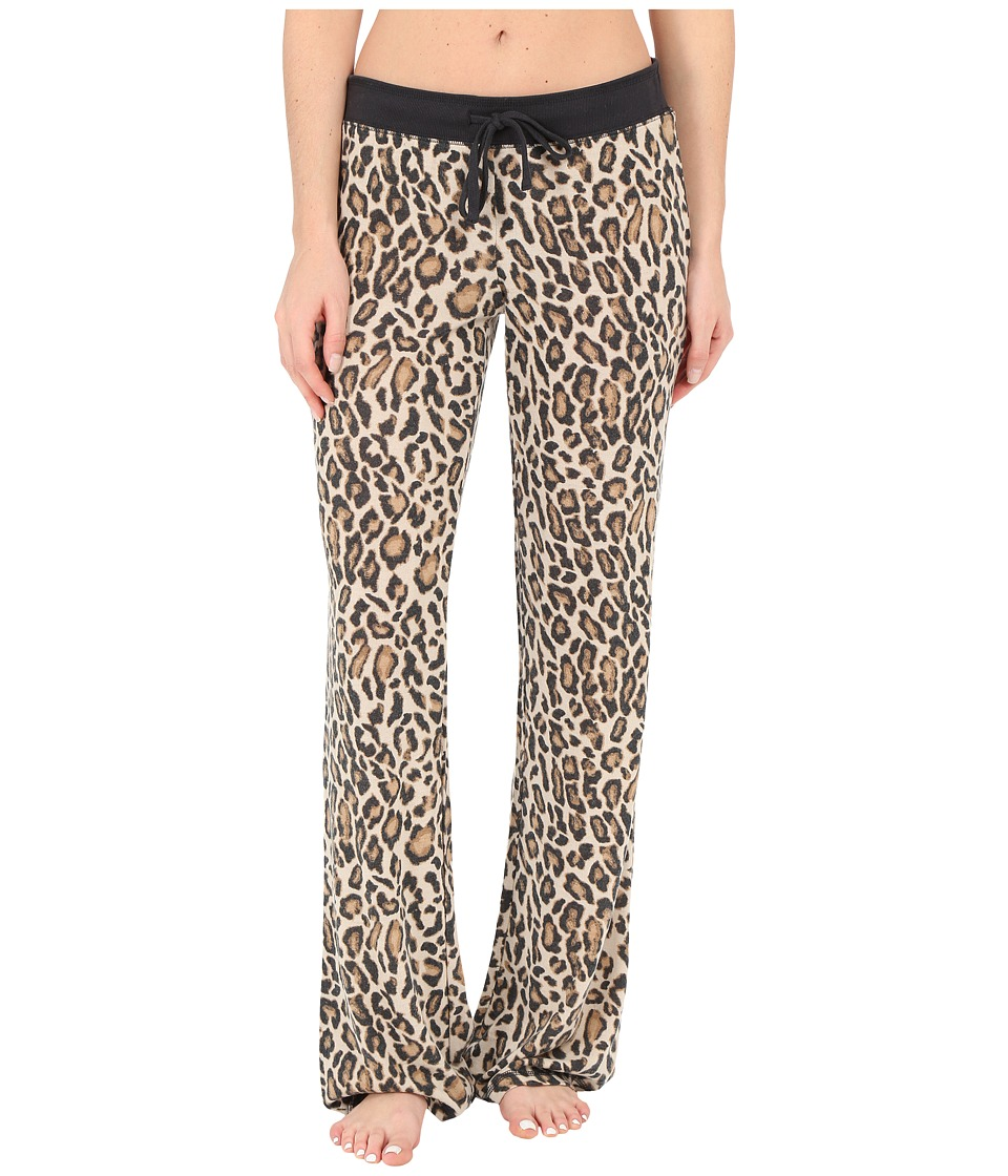 P.J. Salvage - Purrty Leo Sleep Pants (Natural) Women