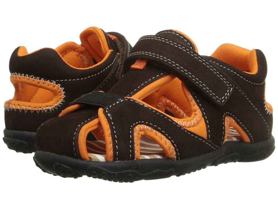 Umi Kids - Nolan (Toddler) (Chocolate Multi) Boys Shoes