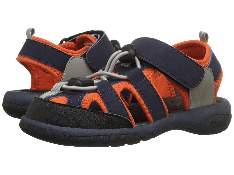 Umi Kids - Evan (Toddler/Little Kid) (Navy) Boys Shoes