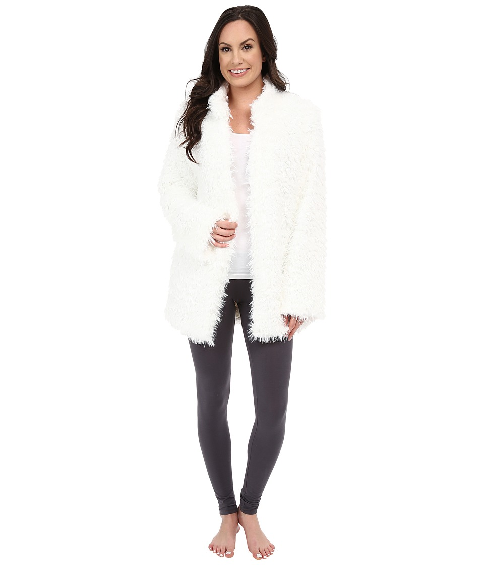 P.J. Salvage - Shag Jacket (Ivory) Women's Coat