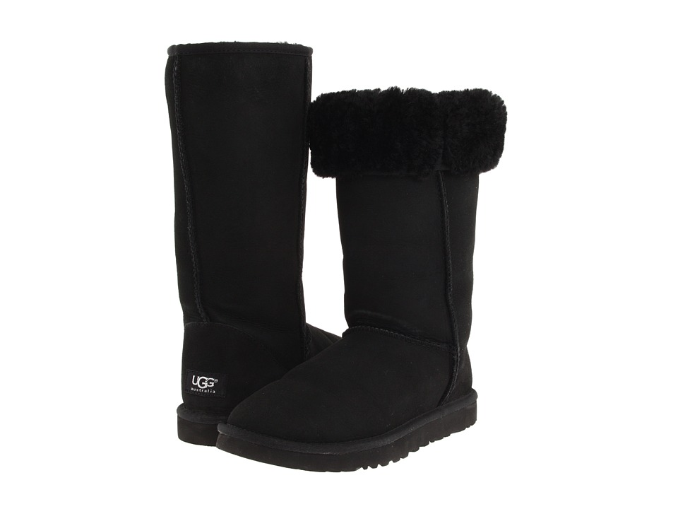 UGG - Classic Tall (Black) Women's Boots