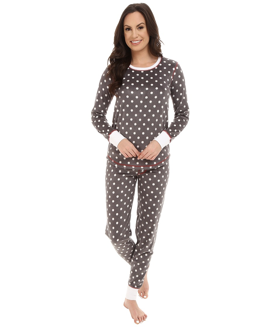 P.J. Salvage - Polar Dot Sleep Set (Grey) Women's Pajama Sets