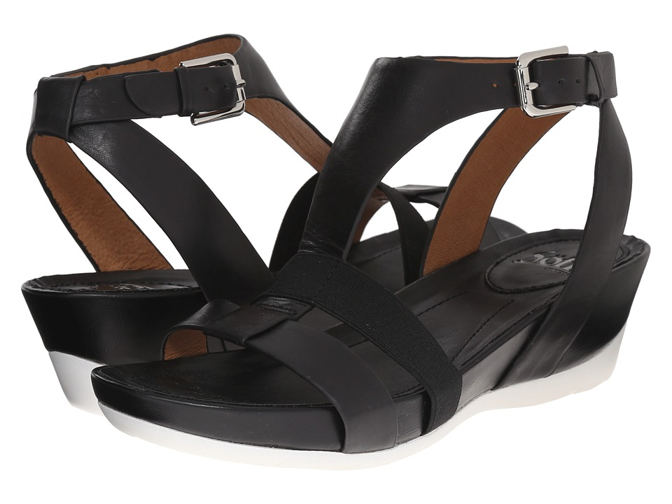 Sofft Contessa (Black Lucky Calf Milled) Women