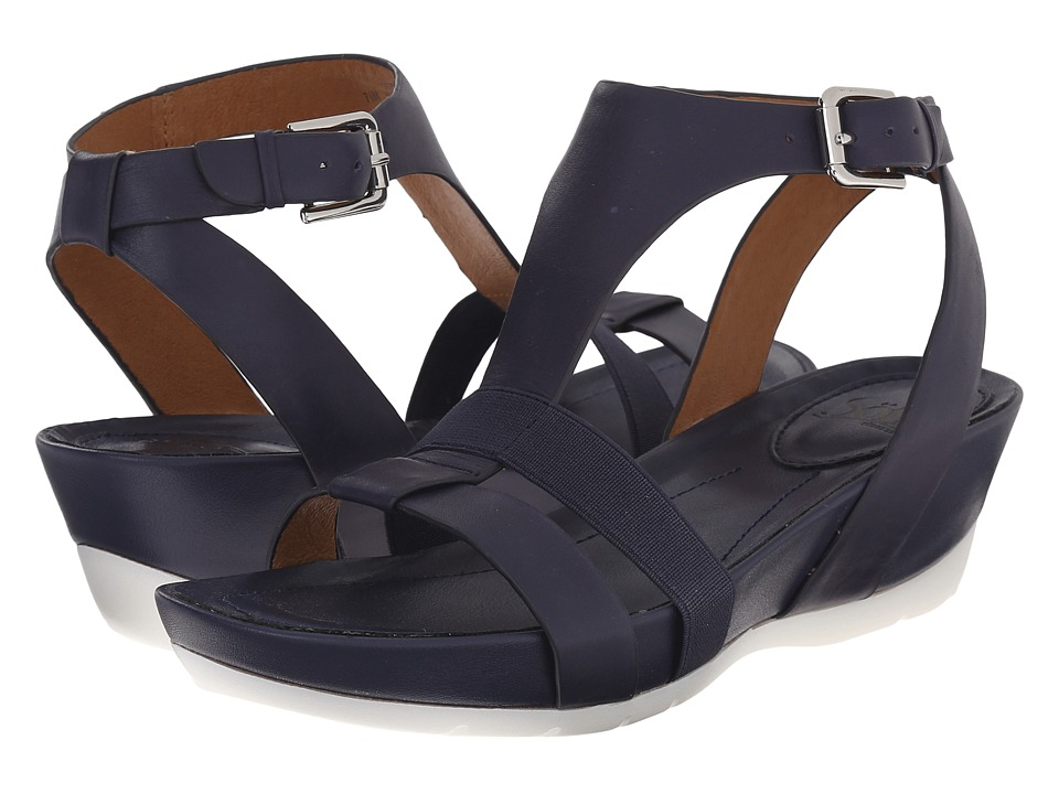 Sofft - Contessa (Peacoat Navy Lucky Calf Milled) Women's Sandals