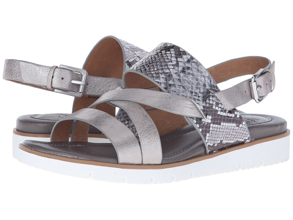 Sofft - Marisol (Anthracite/Silver Grid Metallic/Cricket Glitter) Women's Sandals