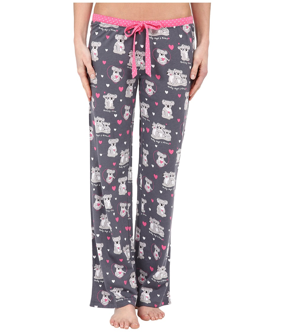 P.J. Salvage - Giftables Koala Pajama Pants (Grey) Women's Pajama