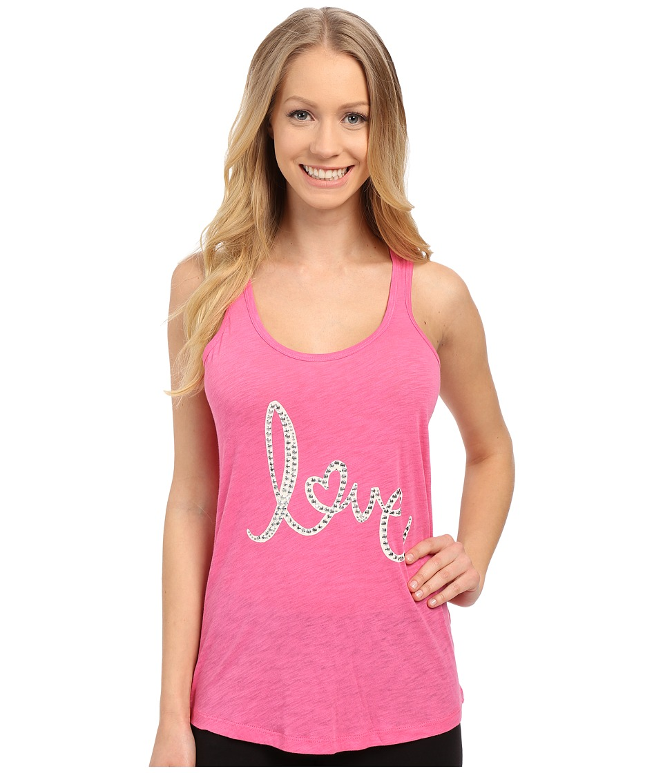 P.J. Salvage - Giftables Love Sleep Tank Top (Fuchsia) Women