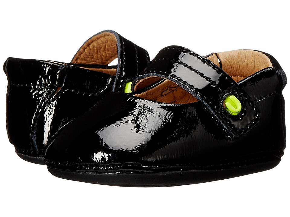 Umi Kids - Fana (Infant/Toddler) (Black Patent) Girl's Shoes