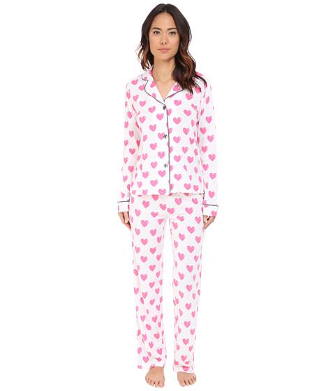 P.J. Salvage - Giftables Heart Pajama Set (Ivory) Women