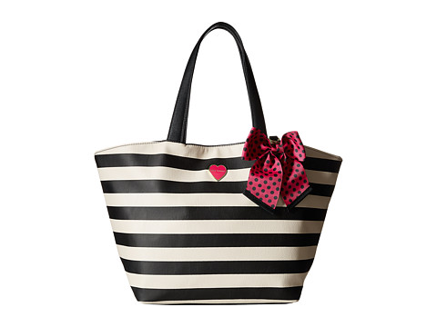 Betsey Johnson - Bag in a Bag (Two-Piece Set) (Stripe) Tote Handbags
