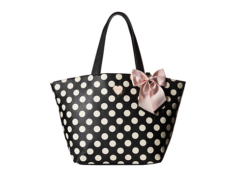 Betsey Johnson - Bag in a Bag (Two-Piece Set) (Black) Tote Handbags