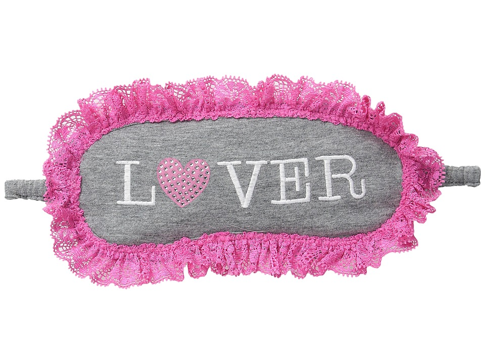 P.J. Salvage - Giftables Lover Eye Mask (Heather Grey) Fashion Sunglasses