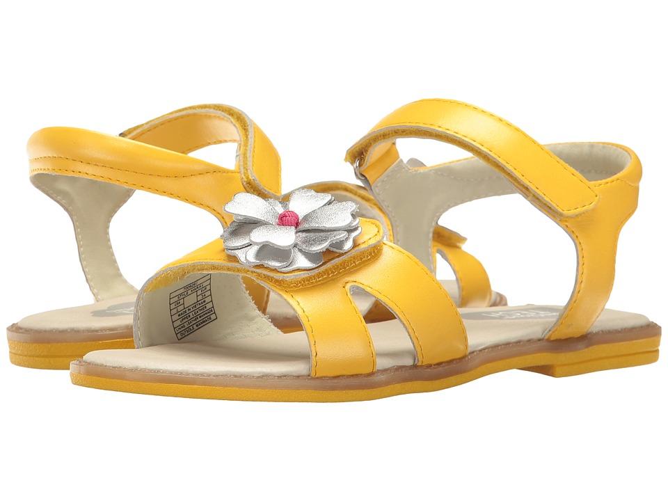 Umi Kids - Mara II (Little Kid) (Yellow) Girls Shoes
