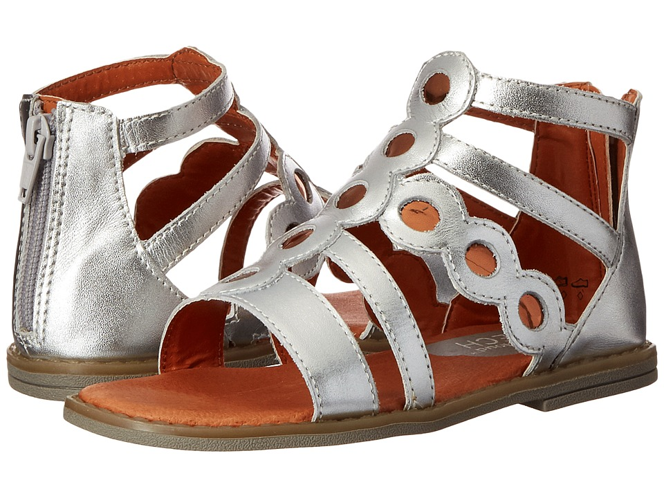 Umi Kids - Meda (Toddler/Little Kid) (Silver) Girls Shoes