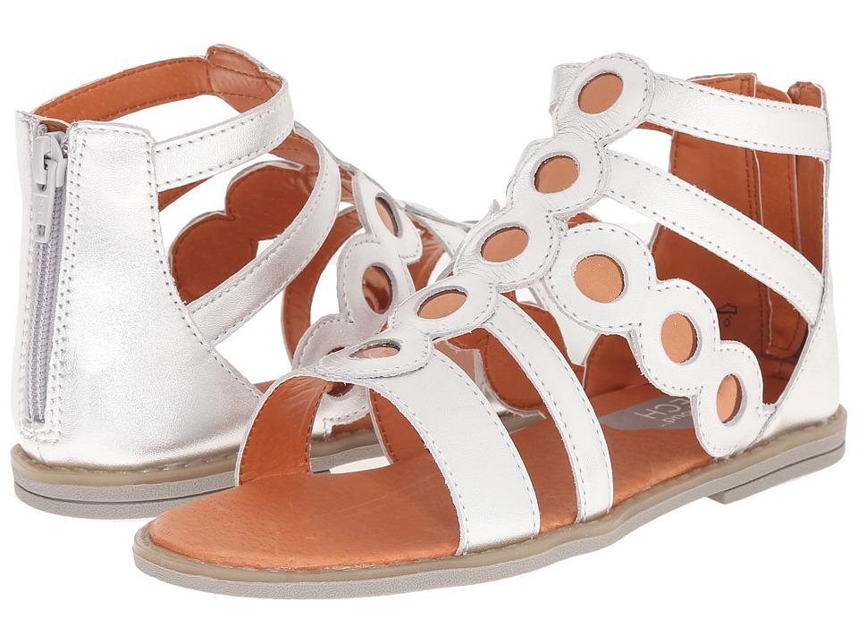 Umi Kids - Meda II (Little Kid) (Silver) Girls Shoes