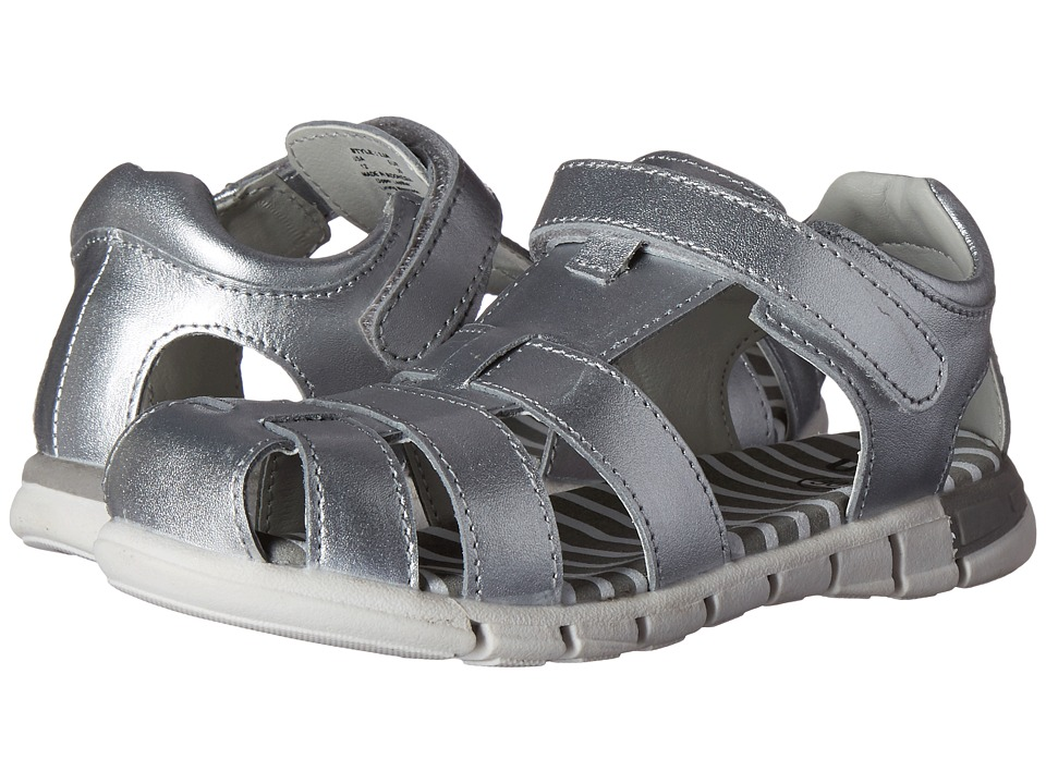 Umi Kids - Lia (Toddler/Little Kid) (Silver) Girls Shoes