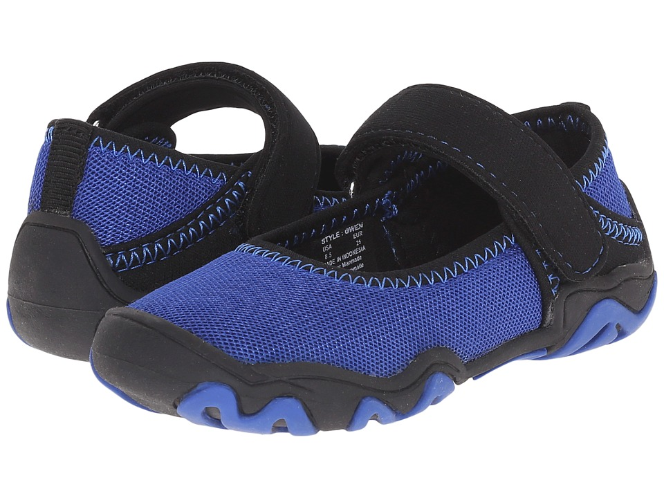 Umi Kids - Gwen (Toddler/Little Kid) (Blue Multi) Girls Shoes