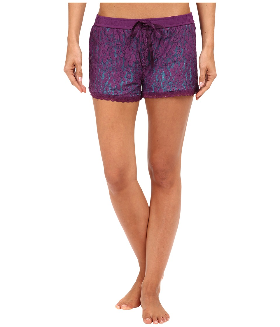 P.J. Salvage - Jewel of the Night Shorts (Teal) Women's Pajama