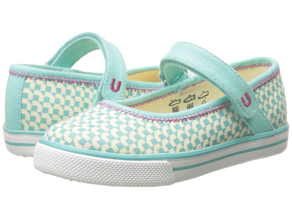 Umi Kids - Hana A (Toddler/Little Kid) (Aqua) Girls Shoes