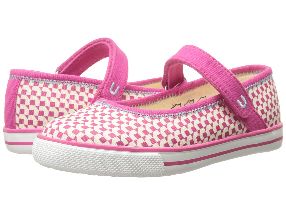 Umi Kids - Hana A (Toddler/Little Kid) (Pink) Girls Shoes