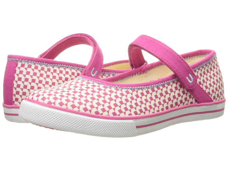Umi Kids - Hana A II (Little Kid/Big Kid) (Pink) Girls Shoes