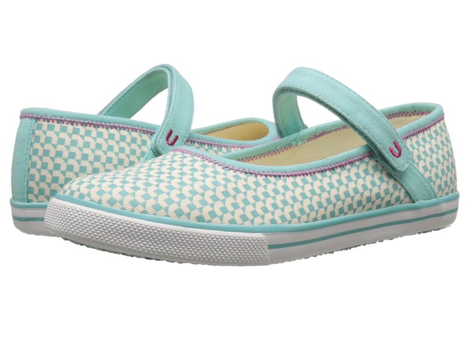 Umi Kids - Hana A II (Little Kid/Big Kid) (Aqua) Girls Shoes