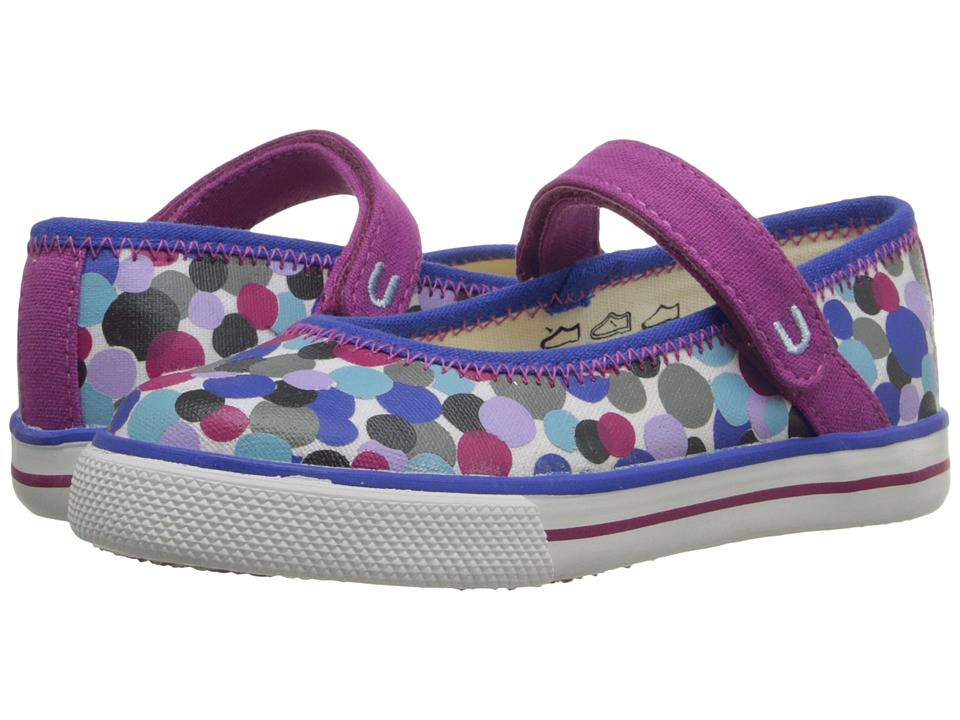 Umi Kids - Hana B (Toddler/Little Kid) (Blue Multi) Girls Shoes