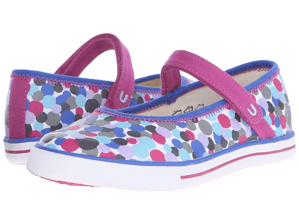 Umi Kids - Hana B II (Little Kid/Big Kid) (Blue Multi) Girls Shoes
