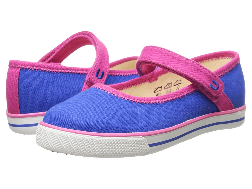 Umi Kids - Hana C (Toddler/Little Kid) (Blue) Girls Shoes