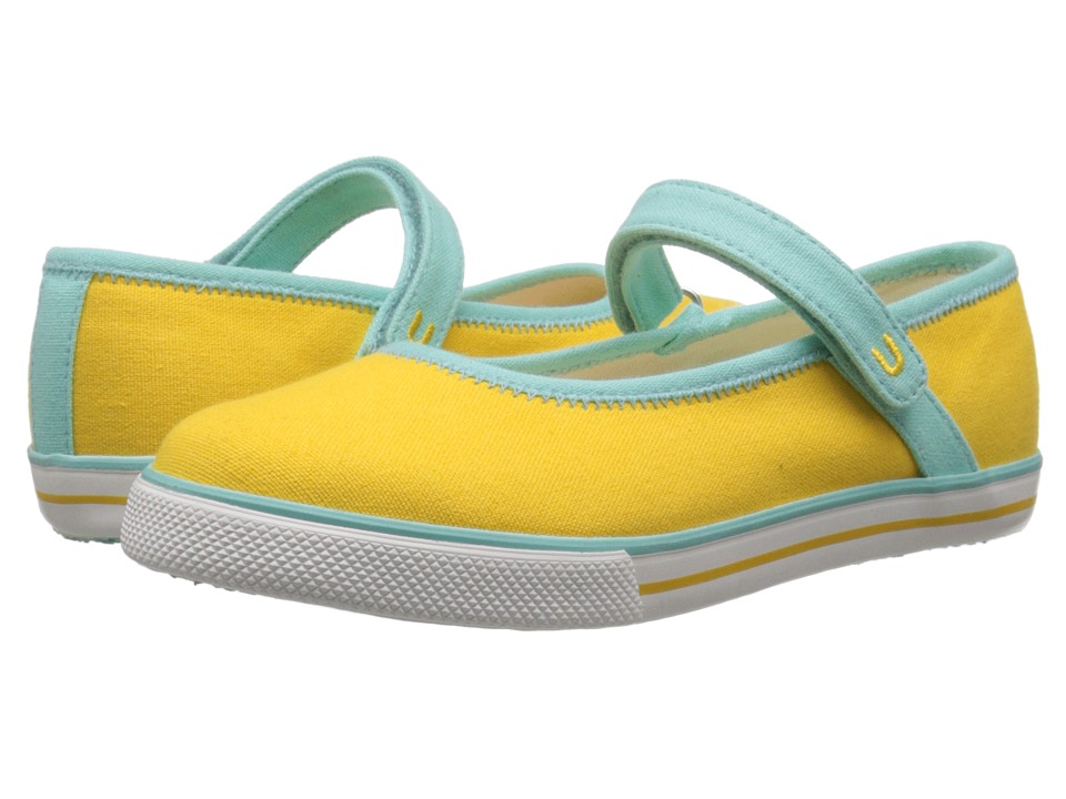 Umi Kids - Hana C II (Little Kid/Big Kid) (Yellow) Girls Shoes