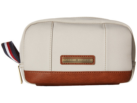 Tommy Hilfiger - Aiden Nylon Dopp Kit (Khaki) Bags