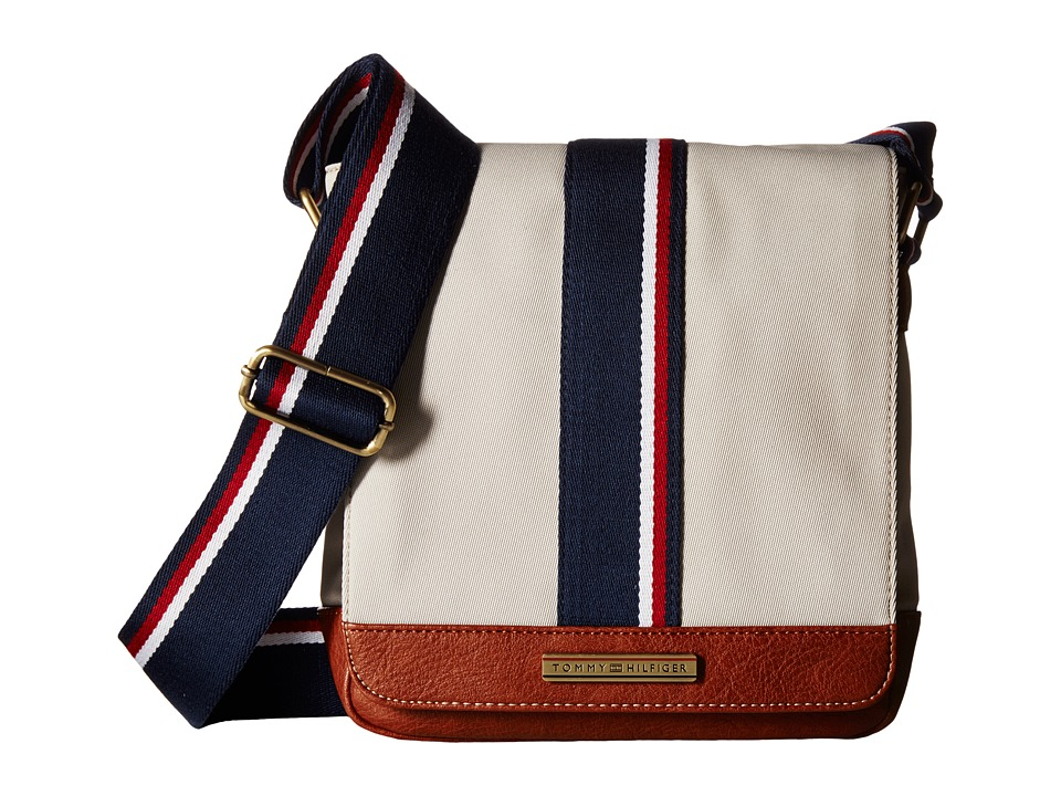 Tommy Hilfiger - Aiden Nylon Camera Bag (Khaki) Messenger Bags