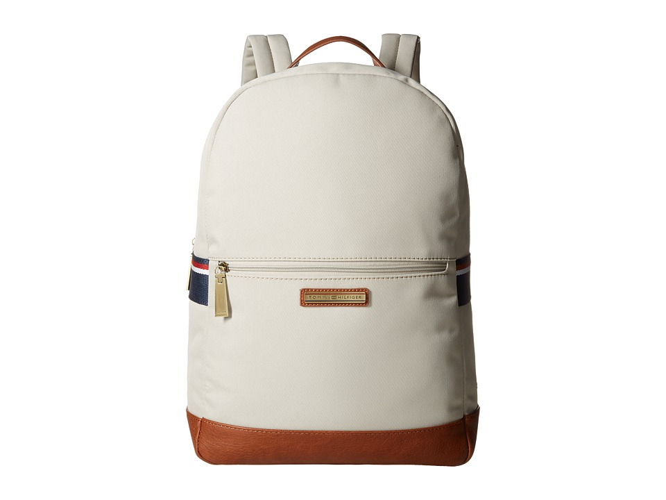 Tommy Hilfiger - Aiden Nylon Backpack (Khaki) Backpack Bags