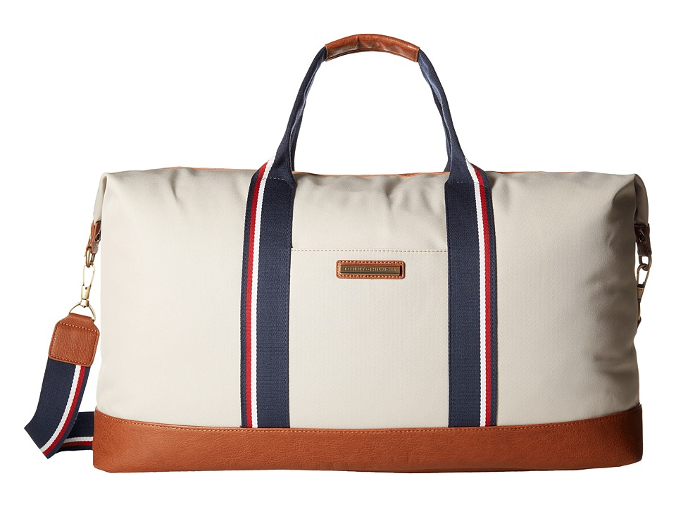 Tommy Hilfiger - Aiden Nylon Duffel (Khaki) Duffel Bags