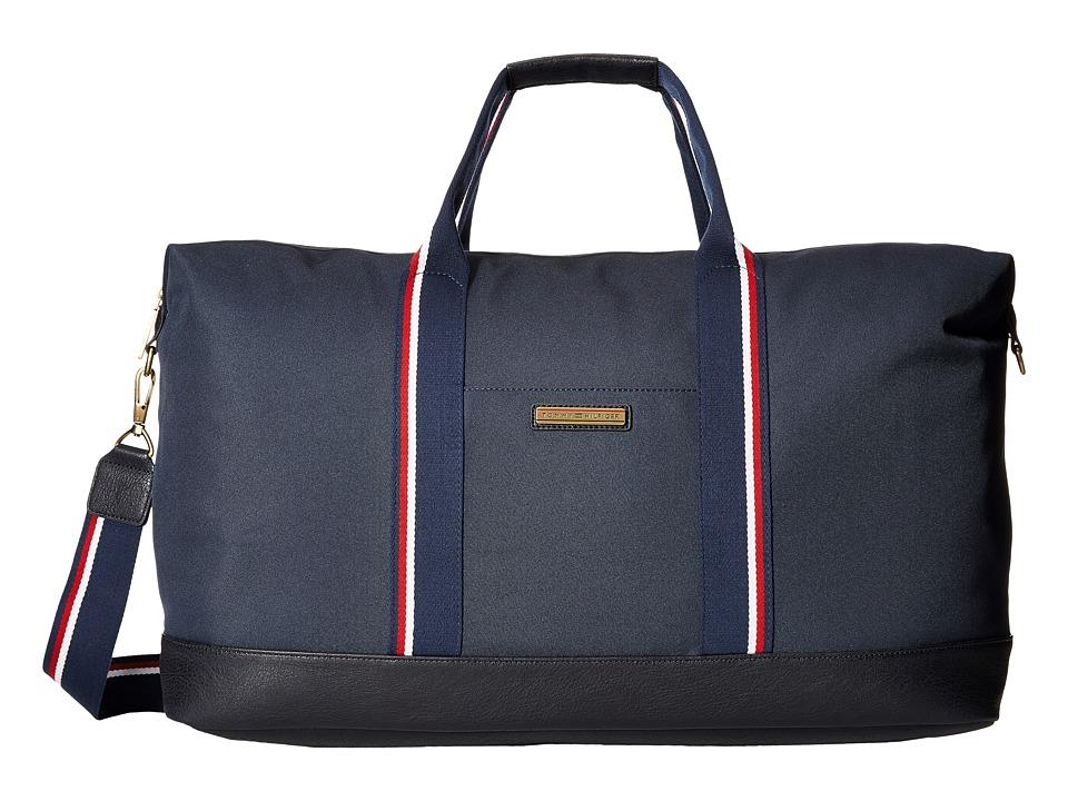 Tommy Hilfiger - Aiden Nylon Duffel (Navy) Duffel Bags