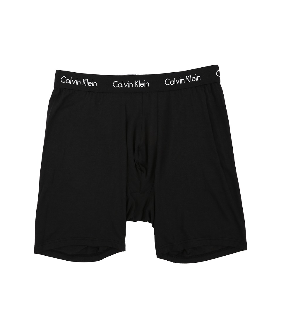 Calvin Klein Underwear - Big Tall Single Pack Boxer Brief (Black) Men's Underwear