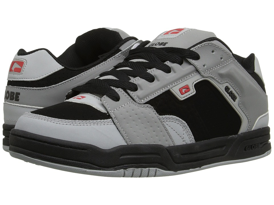 Globe - Scribe (Black/Grey/Red) Men's Skate Shoes