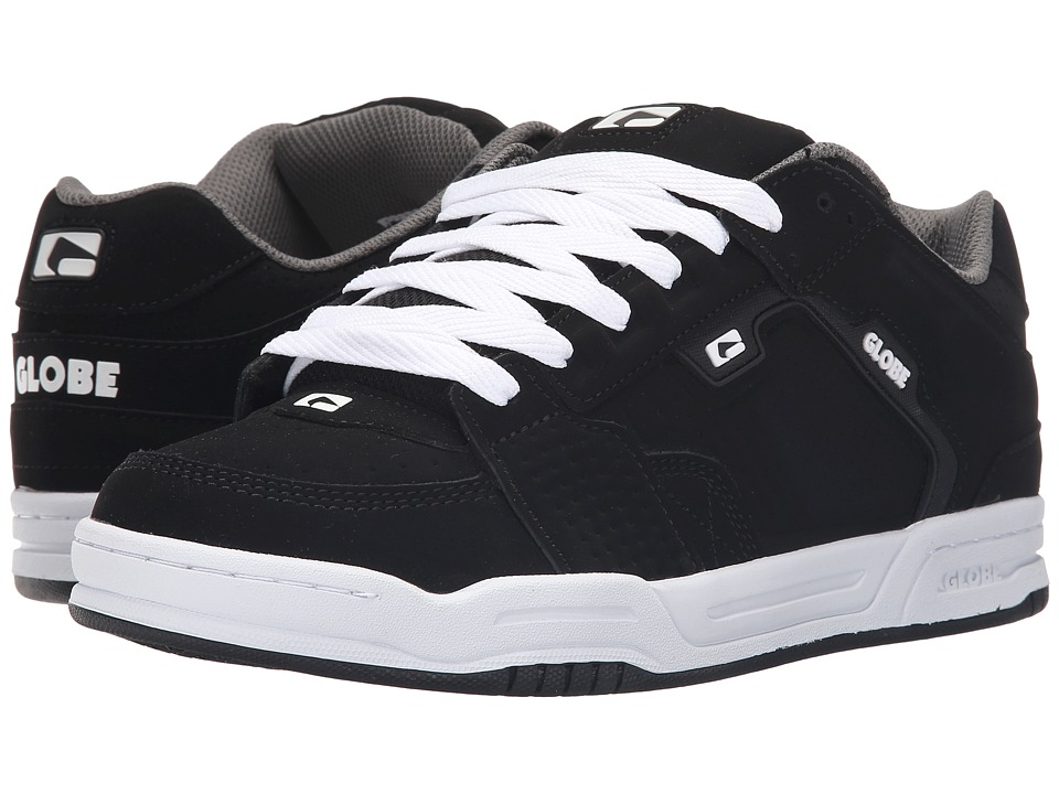 Globe - Scribe (Black/Black/White) Men's Skate Shoes