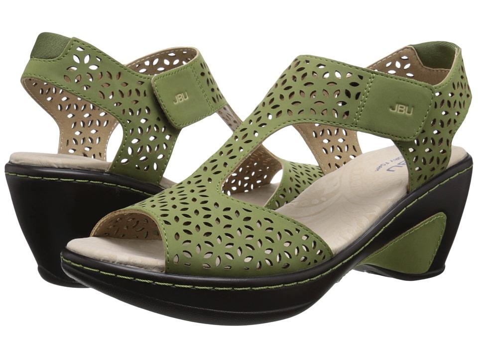 JBU - Chloe (Sage) Women's Wedge Shoes