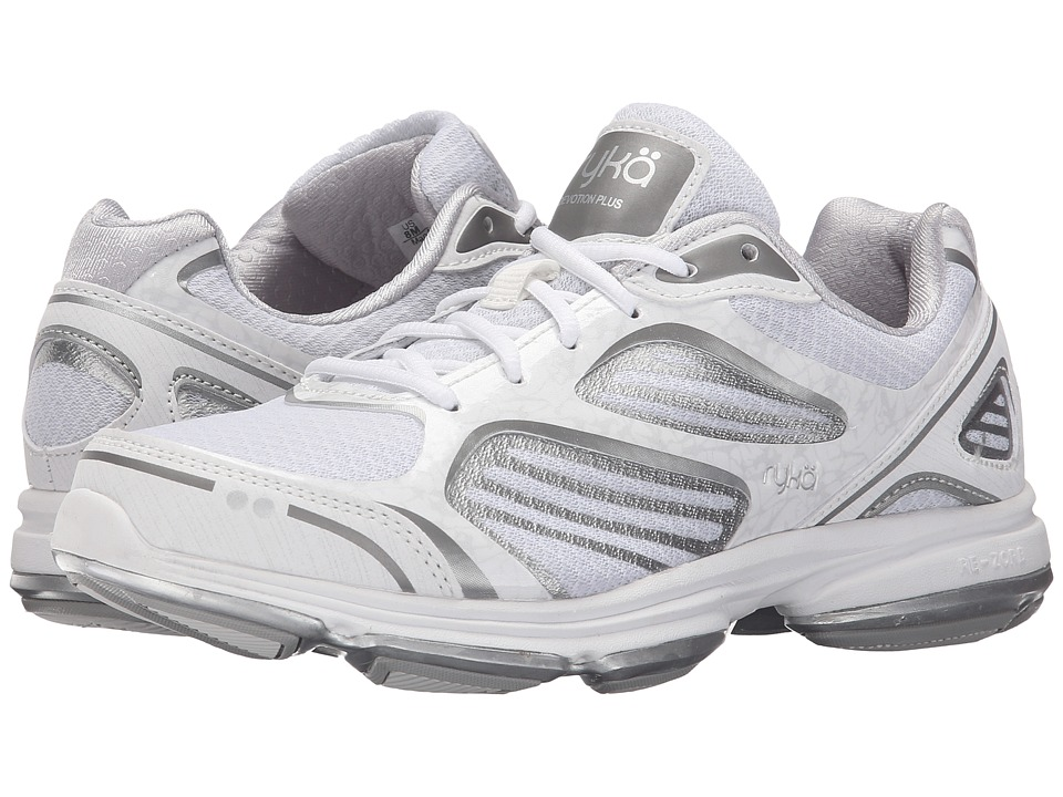 Ryka - Devotion Plus (White/Chrome Silver/Frosted Almond) Women's Shoes