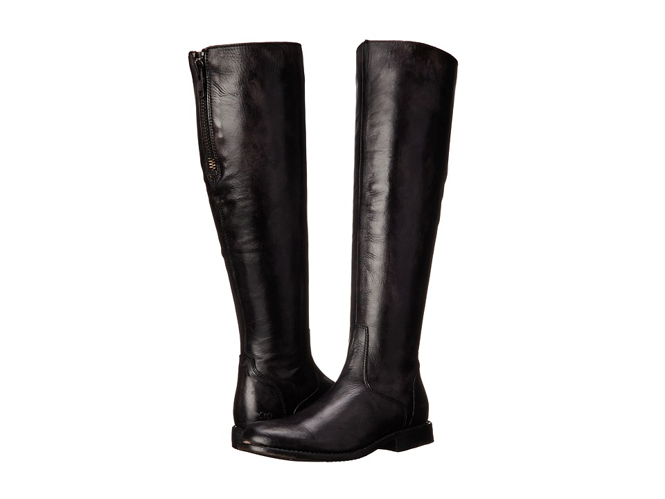 Bed Stu - Tess (Black Glaze) Women's Zip Boots