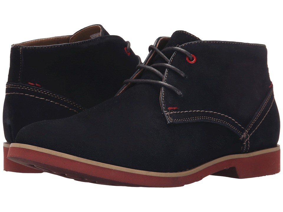 Hush Puppies - Graton EZ Dress (Navy Suede) Men