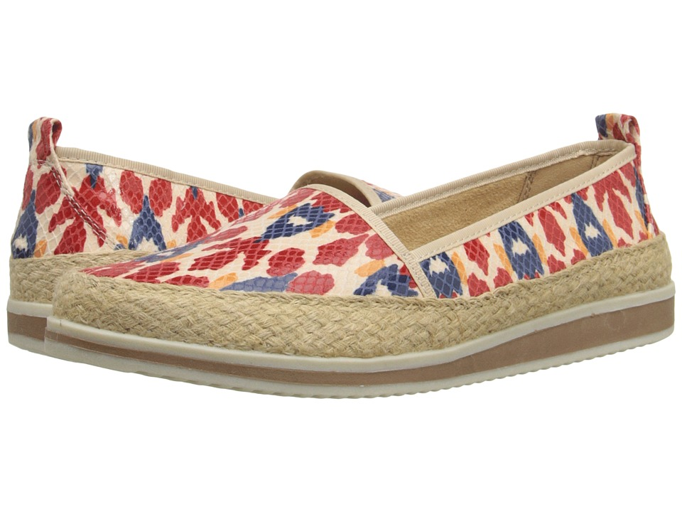 Naturalizer - Davenport (Red Multi Ikat Printed Snake) Women