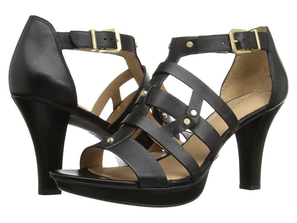 Naturalizer - Derive (Black Leather) High Heels
