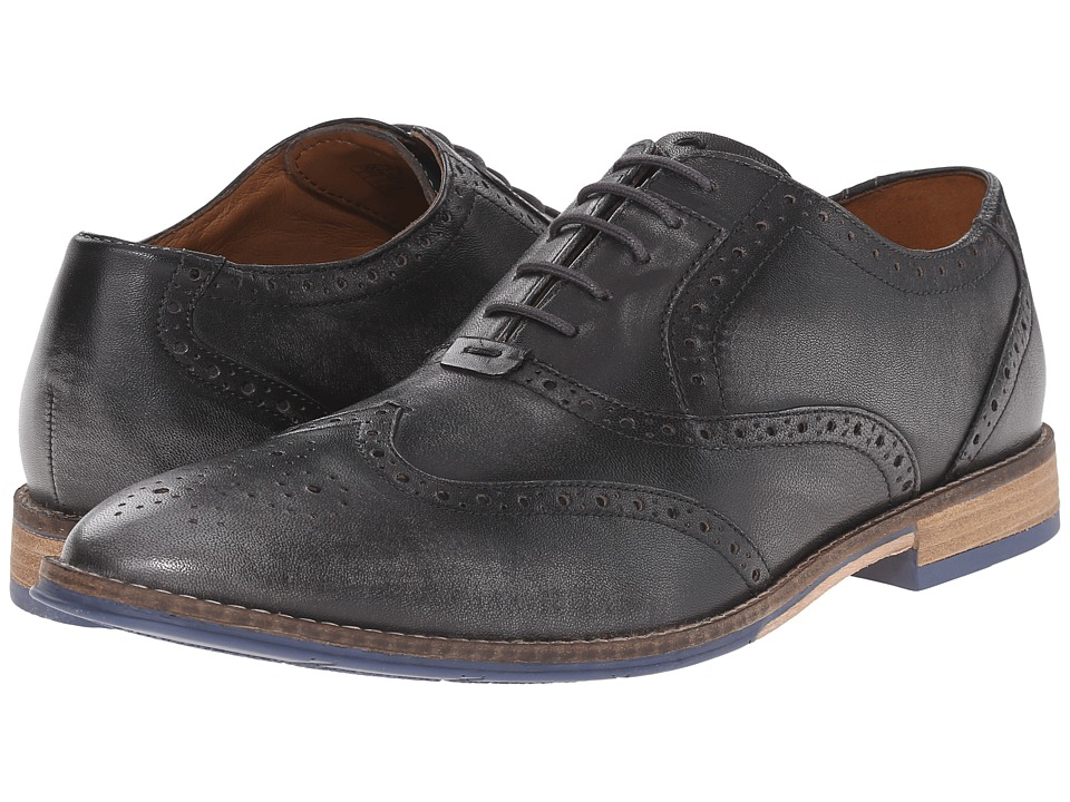 Hush Puppies Style Brogue (Grey Smooth Leather) Men