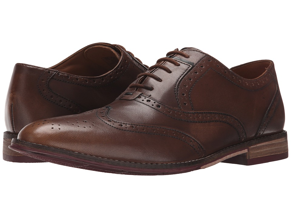 Hush Puppies Style Brogue (Tan Smooth Leather) Men
