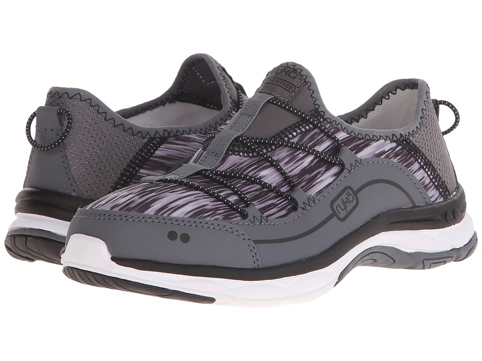 Ryka - Feather Pace (Iron Grey/Frost Grey/Black) Women's Shoes