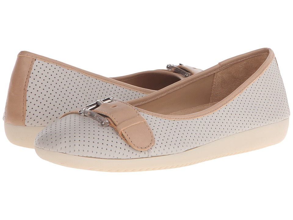 Naturalizer - Kiara (Pearl Grey Nubuck/Ginger Snap Leather) Women